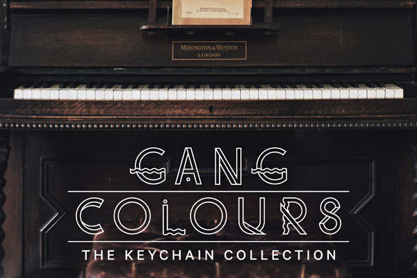 【THE KEYCHAIN COLLECTION】GANG COLOURS