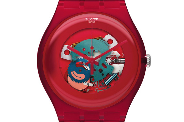 Swatch New Gent Lacquered