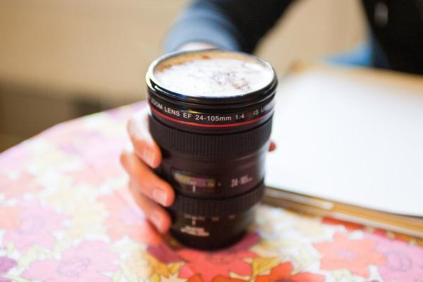 Canon Camera Lens Mug