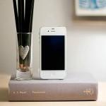 インテリアになるiPhone充電ドック