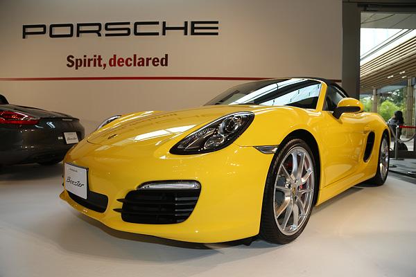 Porsche New Boxster