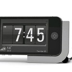 iPhoneをミニマルな置き時計にしてくれるガジェット