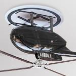 節電はヘリコプターの風で