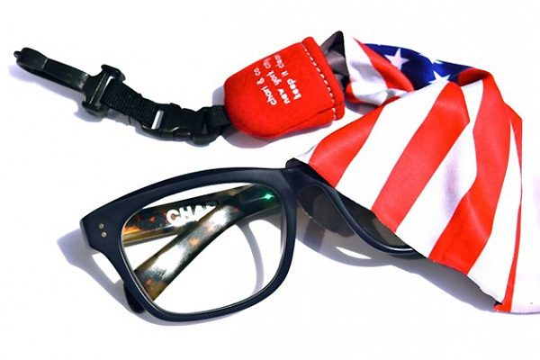 american flag lens cleaner