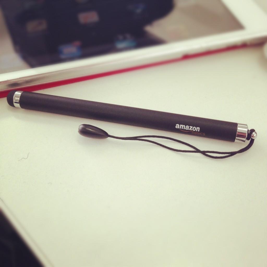 Amazonベーシック スタイラスタッチペン ブラック